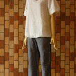 モダール+刺繍プルオーバー