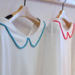パイル刺繍カットソー|haupia