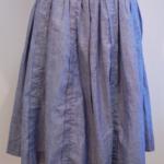 むら糸ギャザースカート|haupia