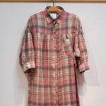 オーバーサイズシャツワンピ|miely