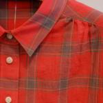 チェックBDネルシャツ|haupia