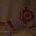 パッチ刺繍コート|VAUDEVILLE