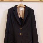 ウール混テーラードジャケット|isato