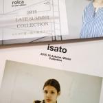 isato 2015-16 AW、rolca LateSummer カタログが届きました