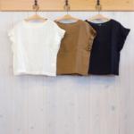 miho umezawa|SUN DRY LINEN frill sleeve blouse