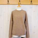miho umezawa|WOOL WHOLE GARMENT light sweater -Beage-