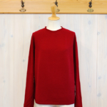 miho umezawa|WOOL WHOLE GARMENT light sweater -Red-
