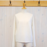 miho umezawa|WOOL WHOLE GARMENT light sweater -White-