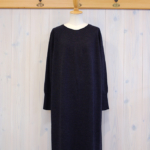 miho umezawa|WOOL WHOLE GARMENT long dress -Charcoal-