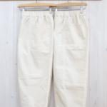 miho umezawa|14W CORDUROY cocoon wide pants -ivory-