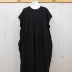 kowtow|Gather Dress -Black-
