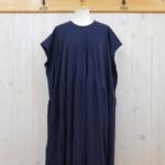 kowtow|Gather Dress -Navy-