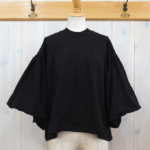 kowtow|Balloon Sleeve Tee -Black-