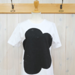kowtow|Big Flower Tee -Black-