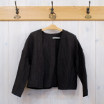 m.u LINEN BAMBOO CLOTH off shoulder jacket のおはなし