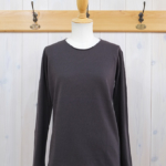 miho umezawa|SOFT COTTON pullover knit -chacoal-