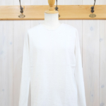 miho umezawa|SOFT COTTON pullover knit -offwhite-