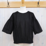 miho umezawa|COTTON LAWN balloon bloues -black-