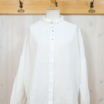 arsa collection|ガーゼ ギャザーブラウス -OffWhite-