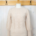 SUNCOO|Puff sleeve Sweater -Beige-