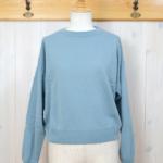 MASKA|Cashmere Sweater -Blue-