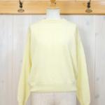 MASKA|Cashmere Sweater -Yellow-