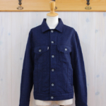 haikure|G Wool Jacket -Blue-