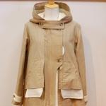 isato|フラシポケット付きミリタリーコート