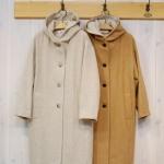 isato|フード付きコート