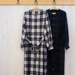 isato|バンドカラーシャツ ワンピース