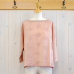 "KELEN|Flower Lace Tops ""Lou Flower"" -Pink-"