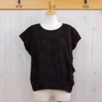 "KELEN|Flower Tuck Lace Tops ""Vie Flower"" -Black-"