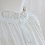 "KELEN|Frill Collar Blouse ""Mimi"" -OffBeige-"