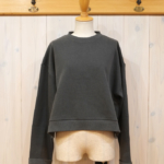 "KELEN|RollUp Sleeve Tops ""Chamy"" -Charcoal-"