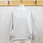 "KELEN|Dolman Sleeves Tops ""Stufu"" -LtGrayge-"