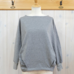 "KELEN|Dolman Sleeves Tops ""Stufu"" -MokuGray-"