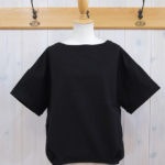 "KELEN|Hem Tuck Wide Tops ""Lico"" -Black-"
