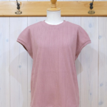 "KELEN|Wide Rib Tops ""Pia"" -SmokePink-"