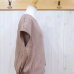 "KELEN|Back Balloon Tops ""Veje"" -CamelBeige-"