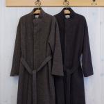 nume|ウールメルトン スタンドカラー コート