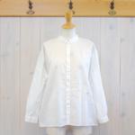 nume|コットン刺繍シャツ -Off White-