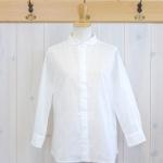 TINA and SUSIE|ランダム水玉刺繍 8分袖シャツ