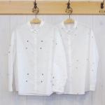 TINA and SUSIE|ランダム水玉刺繍シャツ