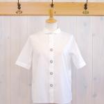 TINA and SUSIE|ボタン刺繍 5分袖シャツ