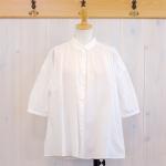 TINA and SUSIE|80sローンミラクルウェーブ ギャザーシャツ