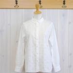 TINA and SUSIE|ナチュラルウェーブ水玉BDシャツ