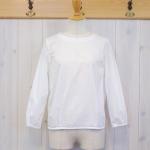 WashWash|50ブロード プルオーバー背リボンシャツ