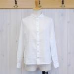 WashWash|フレンチリネンキャンバス サイドポケットシャツ