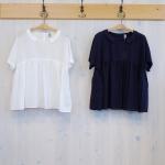 WashWash|80ローン フラットカラー 半袖シャツ